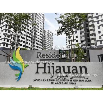Residensi Hijauan, Jalan Budiman 22/3, Seksyen 22, 40300 Shah Alam, Selangor